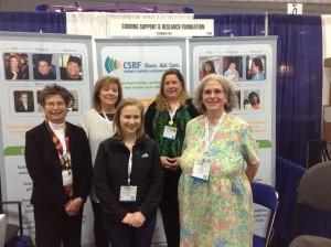 Left to right: Karen Campbell, Louise Pace, Elissa Kline, Leslie Edwin, Ellen Whitton